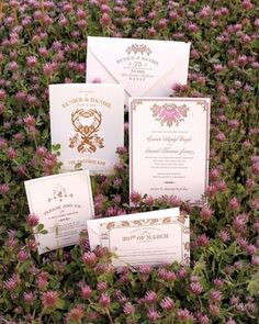"""See the """"Old-Fashioned Floral Invitation"""" in our Vintage-Style Wedding Invitations gallery"""