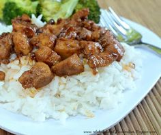 Bourbon Chicken {family food & fun}