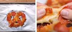 genialna przekąska z ciasta na pizzę