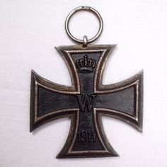 Online veilinghuis Catawiki: Iron Cross 2nd class (EK2) 1914 WW1 with manufacturer mark, doubly stamped, rare