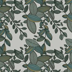 Leaves Pattern by @Marina Molares