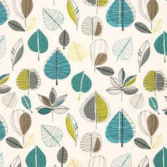 Maple Curtain Fabric nice colour combo