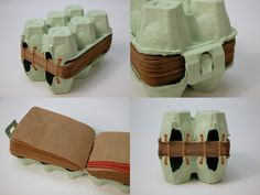 Egg carton book - reusing and inspiring instead of just recycling