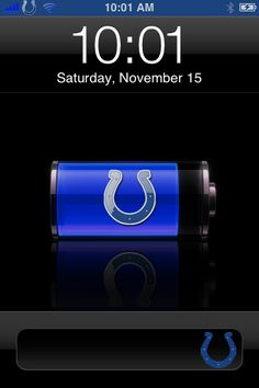 Pairs my love of Apple and the Colts