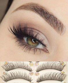 10 Pairs Natural Handmade Thick Long Short Cross False Eyelashes Soft Fake Eye Lashes Extension Voluminous Makeup [9005548740]