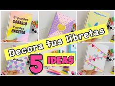 Haz CUADERNOS PERFUMADOS Decora tus libretas con pintura perfumada 3D ♥ DIY Kawaii Novedad - YouTube
