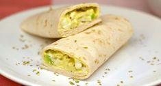 Avokádós tojássaláta wrap recept | APRÓSÉF.HU - receptek képekkel Kfc, Coleslaw, Guacamole, Cake Recipes, Clean Eating, Tacos, Healthy Recipes, Healthy Food, Mexican