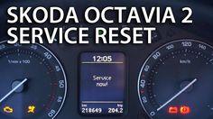 How to reset service reminder indicator in #Skoda #Octavia MK2