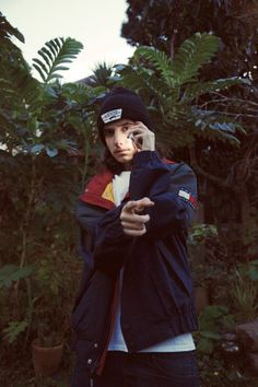 chrisimmons:Pouya in the rare garden