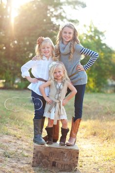 sisters!!! I could not be more thrilled to have three beautiful daughters!!!! We are so in need of updated pics!! Any takers ;)