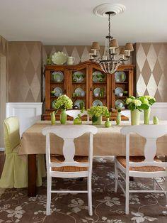 Jurnal de design interior - Amenajări interioare : Interior decorat cu piese vintage