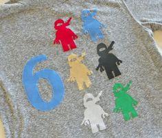 Ninjago Birthday shirt