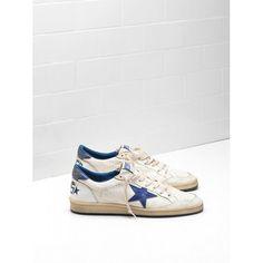 Scarpe Acquistare Golden Goose DB V-Star 2 Uomo Sneakers Bianco Blu Saldi