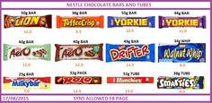 Joyce Iredale - Nestle bars