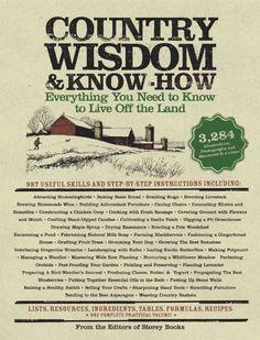 Country Wisdom & Know-How:Amazon:Books