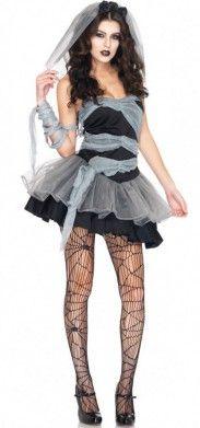 Disfraz de novia cadáver. Nuestro disfraz de novia cadáver es uno de los más popular este año. No solo es sexy, sino que tiene un toque terrorífico que es perfecto para la noche de brujas.