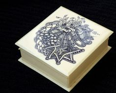 Zentangle: French Ivory