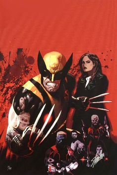 Fear Itself: Wolverine #1 - Limited Edition Giclee on Stretched Canvas by Daniel Acuna and Marvel Comics