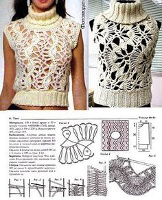 girls fashion: crochet pattern | make handmade, crochet, craft