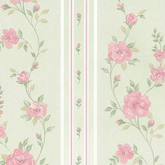 Wallpaper Inn Store - Green Silk with Floral Stripe, R739,95 (http://shop.wallpaperinn.co.za/green-silk-with-floral-stripe/)