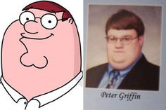 Family Guy Peter Griffin's real life look-alike