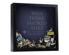 Cigar Band Custom Shadow Box, Personalized Cigar Bands, Been There Smoked That