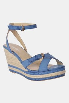 Blue Espadrille I am wondering if I would be able to wear them