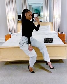 outfit for date casual Women's Fashion Leggings, Blazer Fashion, Fashion Hats, Fashion Accessories, Fashion Outfits, Womens Fashion, Instagram Outfits, New Instagram, Teaira Walker