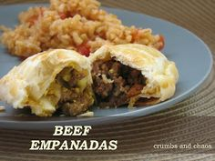 Beef Empanadas - Crumbs and Chaos