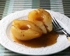 Vou fazer essa sobremesa de pera assada com canela e mel na ceia de ano novo. Ah e o melhor ela não engorda! Pera Assada com Canela e Mel