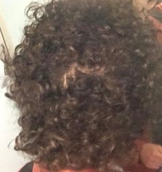 Is my crown thinning?- ThorGift.com - If you like it please buy some from ThorGift.com Thin Curly Hair, Wavy Hair, Curly Hair Styles, Hairstyle, Crown, Beauty, Hair Job, Hair Weaves, Hair Style