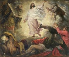 NOVENA in Honour of and preparation for, the Feast of the Transfiguration of our Lord – Day Two – 29 July Catholic Daily Reflections, Transfiguration Of Jesus, Daily Gospel, Thought Pictures, Jesus Is Coming, Religious Art, Catholic Art, Religious Paintings, Catholic School