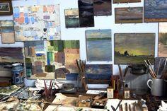 art studio...one day :)