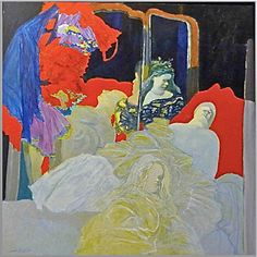 Jacobo Borges Venezuelan contemporary painting