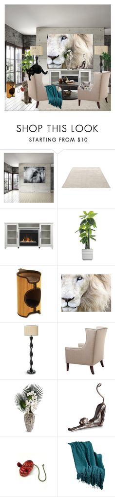 """Cats at Home"" by wanda-india-acosta on Polyvore featuring interior, interiors, interior design, home, home decor, interior decorating, Ready2hangart, &Tradition, Laura Ashley and Palecek"