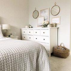 HEMNES white, Chest of 8 drawers, cm. Design My Room, Bedroom Design Inspiration, Room Inspiration, Cosy Home Decor, Cozy Apartment Decor, Diy Living Room Decor, Bedroom Decor, Cool Bedroom Furniture, Cozy Room