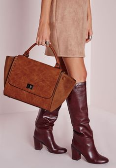 Missguided - Winged Tan Tote Bag