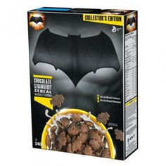 General Mills Batman Chocolate Strawberry Cereal 11.9 OZ (337g)