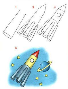 Dibujar medios de transportes aéreos ~ Rayito de Colores