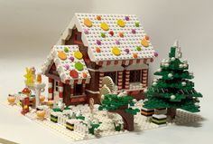 Gingerbread house by tikitikitembo, via Flickr