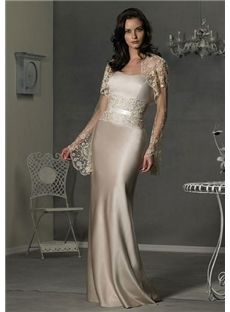 Perth Fashionable Sheath Strapless Lace Floor-Length Mother Of The Bride Dress
