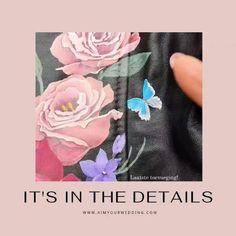 Wil je graag een jasje laten customizen, maar weet je niet met wat? Lees mijn blog vol ideeën, waaronder de toevoeging van een bloem, of hier vlinder, die staat voor een overleden persoon. Zo is hij/zij er toch een beetje bij en krijgt het jasje een grote gevoelswaarde! De musthave als je gaat trouwen!