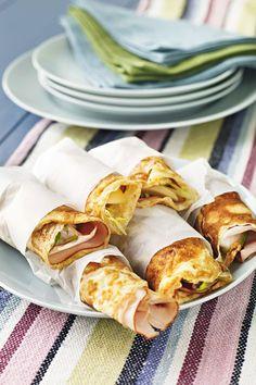 Perfekt mat att ta med sig på en utflykt eller träning #mellanmål #pannkakor #nyttigt