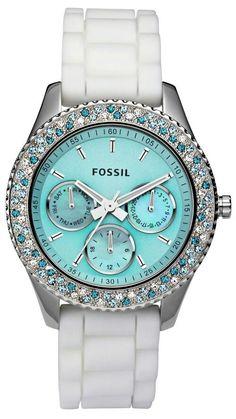 Tiffany blue fossil