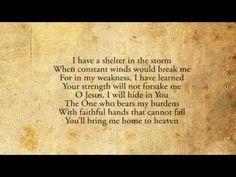 I Have A Shelter - Sovereign Grace