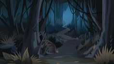 Diaz Family Vacation background - Forest of Death 2.png