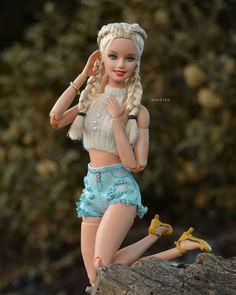Barbie Mode, Barbie And Ken, Selfies, Accessoires Barbie, Barbie Summer, Barbie Fashionista Dolls, Beautiful Barbie Dolls, Barbie Collection, Sport Chic