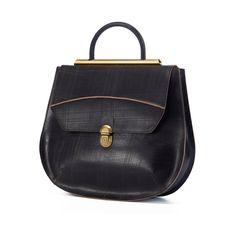 Black Textured Leather Tote Bag / Women Leather Purse / Cross Body Bag / Shoulder Bag / Hand Bag / Messenger Handmade Bag - Gladice Bag