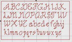 letras bordadas pequeñas - Buscar con Google