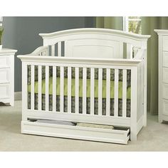 "Baby Cache Harbor 4-in-1 Convertible Crib - White - Baby Cache - Babies ""R"" Us"